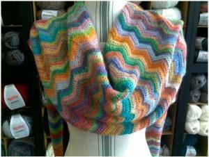 Etole laine multicolore : 100% laine | Mercerie Fil A point à Sens 89