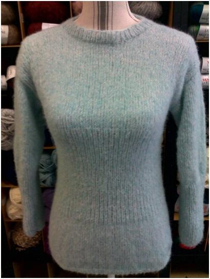 Pull femme : alpaga, laine et polyamide | Mercerie Fil A point à Sens 89