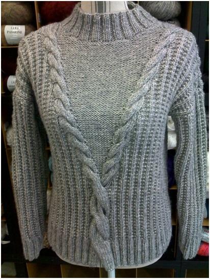 Pull femme : coton et laine merino | Mercerie Fil A point à Sens 89
