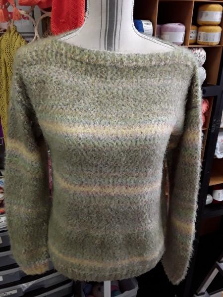 Pull femme en tricot